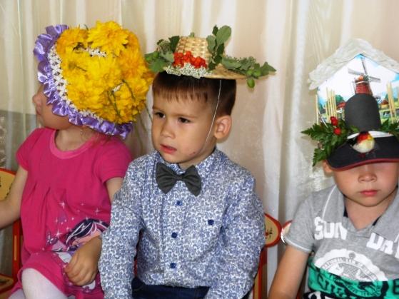 Шляпа своими руками для ребенка в детский сад