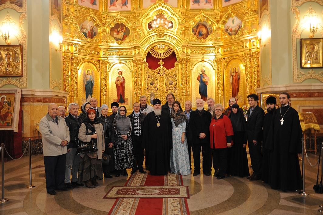 Mитрополит Ставропольский и Невинномысский Кирилл принимает литературную делегацию Золотого Витязя Ставрополь 2015