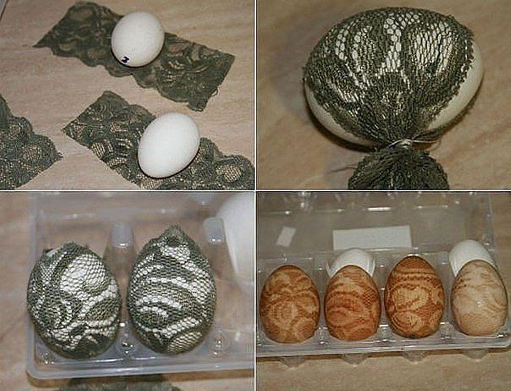 Пасхальные яйца покраска своими руками 62