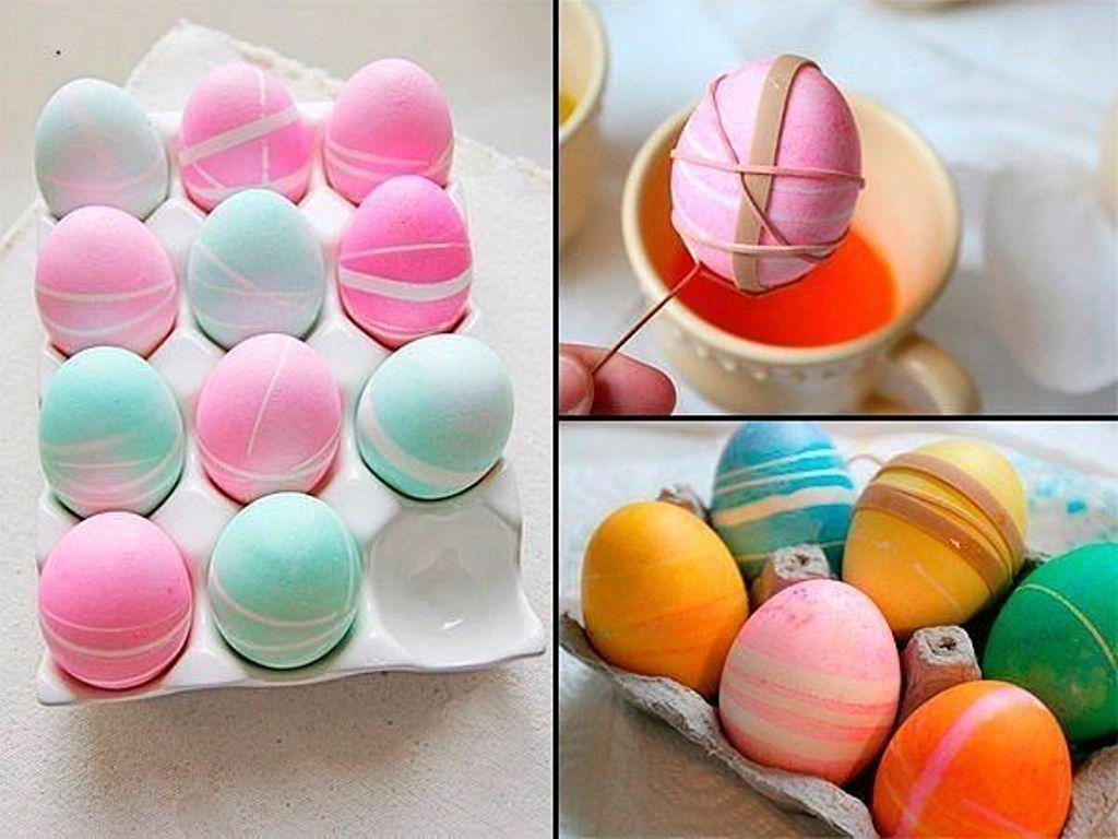 Как сделать красивыми яйца