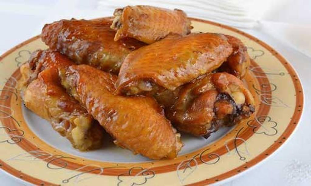 Крылышки запечённые в духовке рецепт