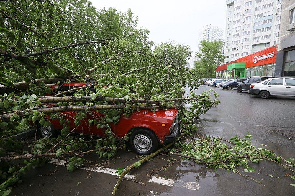 Когда был ураган в москве в мае 2018
