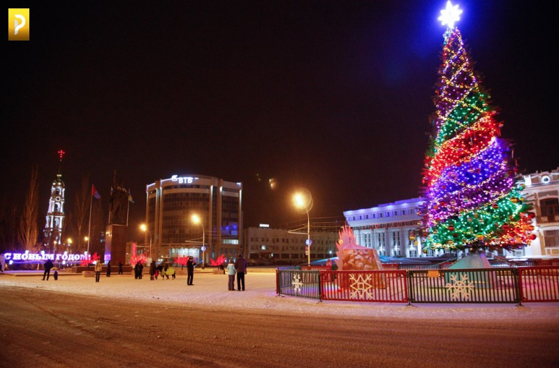 Открытие столицы нового года