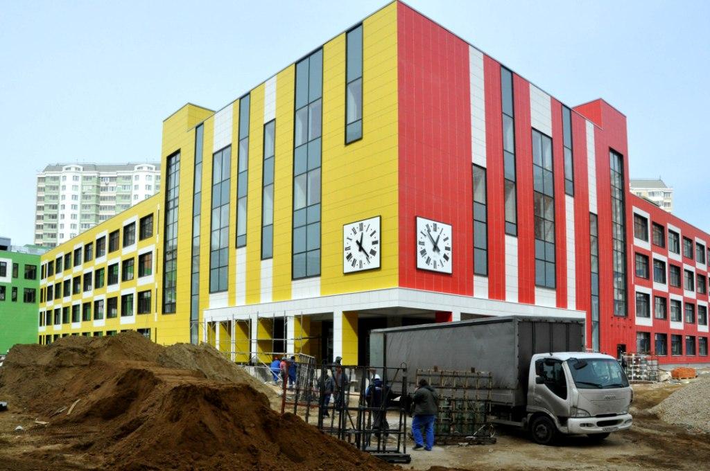 Новая школа в некрасовке 2018 года