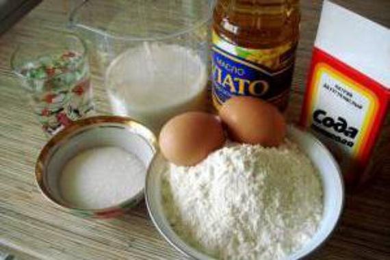 В мультиварке мед мука масло растиельное