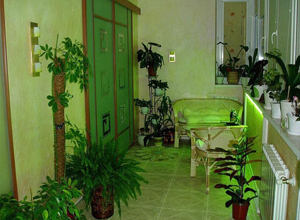 Балкон и лоджия - кусочек рая в вашей квартире 1000 декорс.