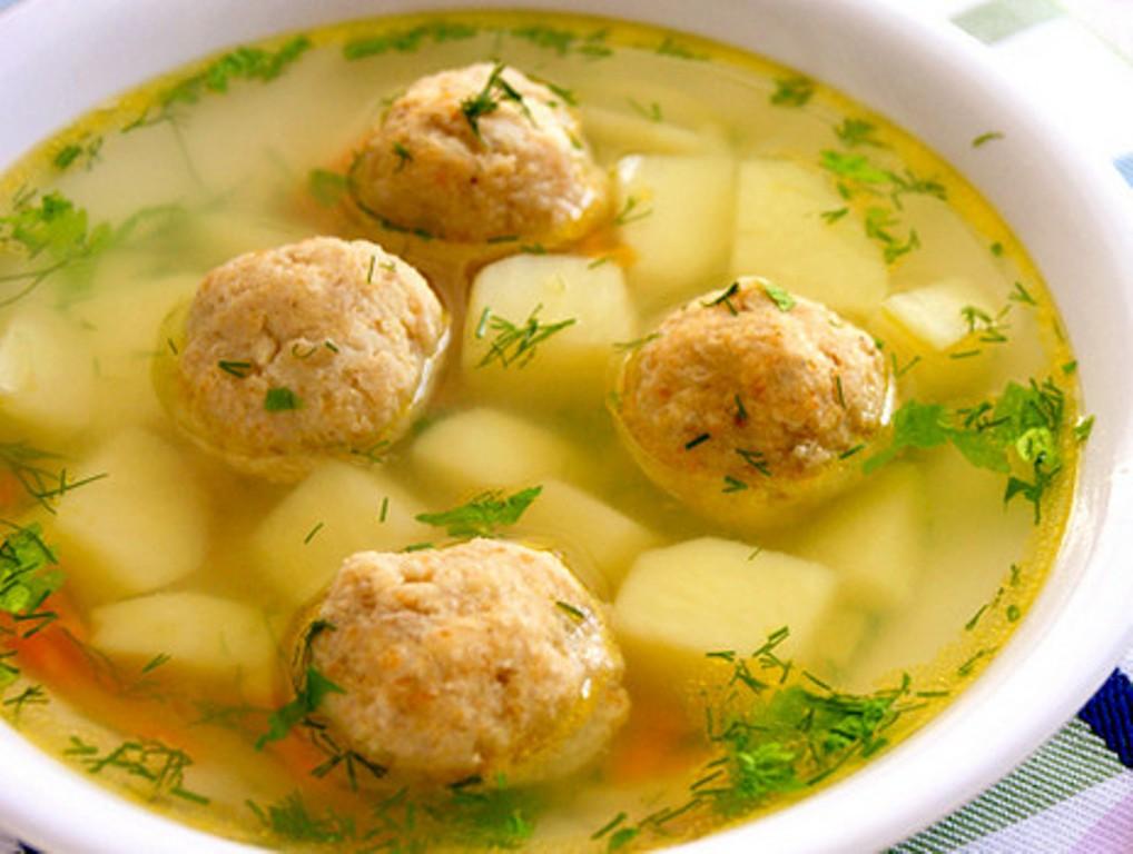 Суп с фрикадельками готовыми пошаговый рецепт с