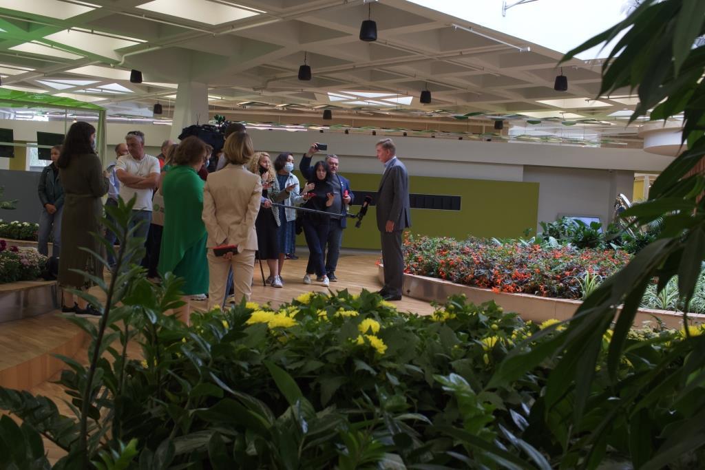 5 сентября экоцентр «Цветоводство» Мосприроды отпразднует полгода со дня открытия - фото 5