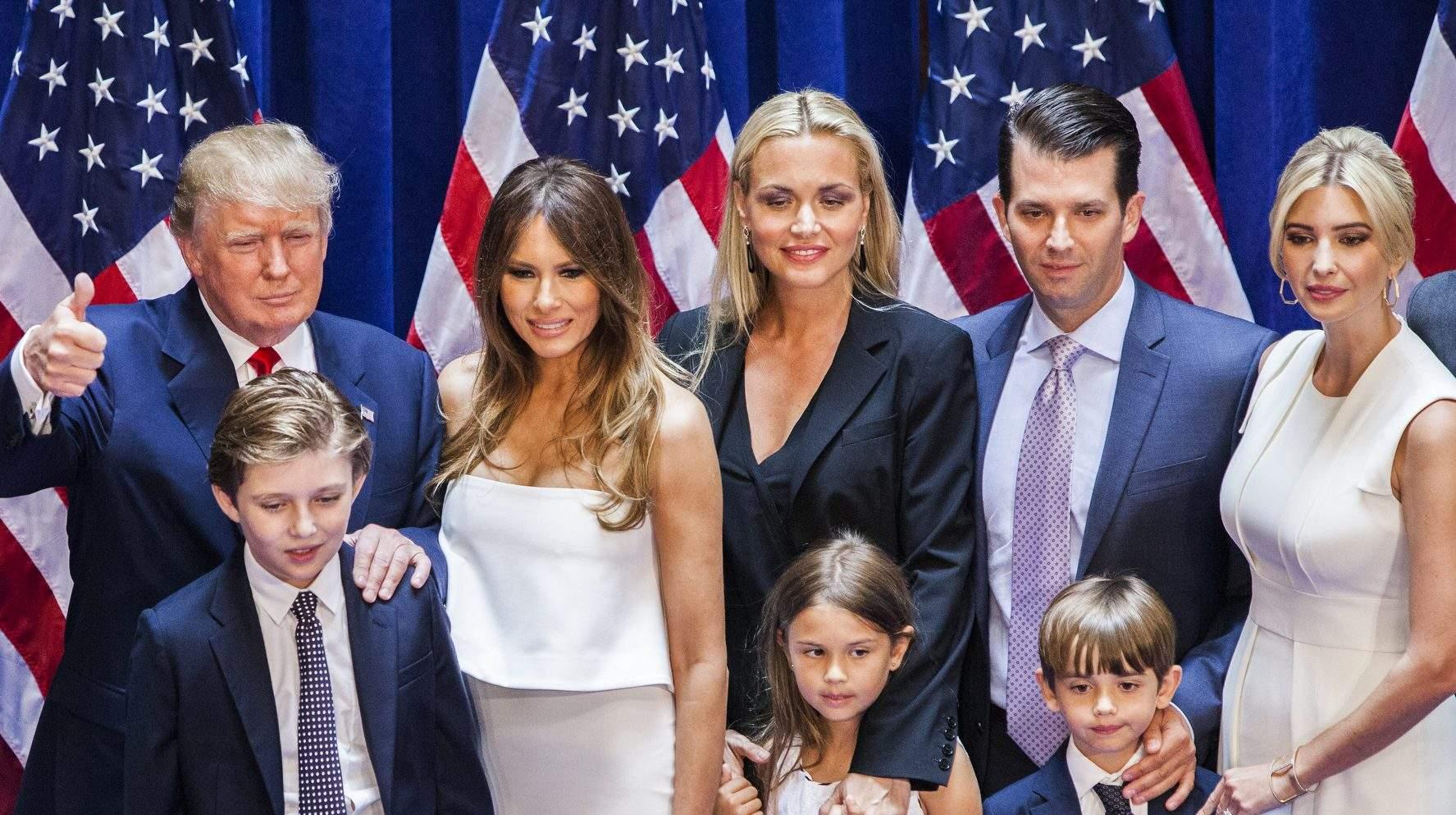 дсп фотографии семьи дональда трампа сначала