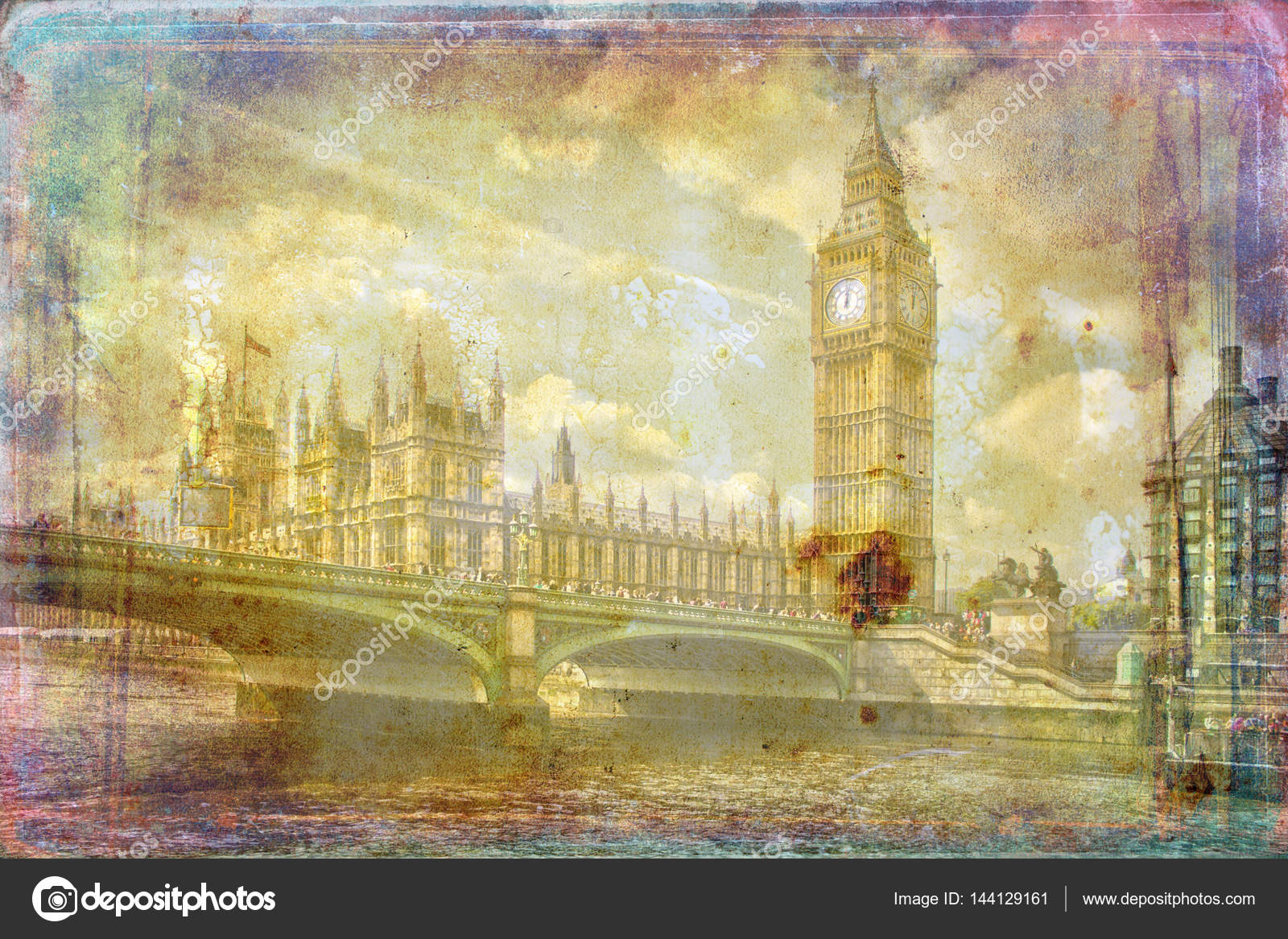 depositphotos 144129161-stock-photo-london-art-texture-illustration
